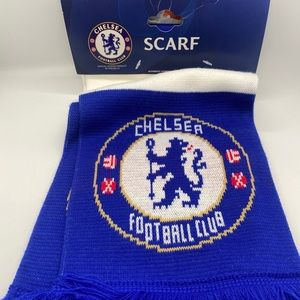 Chelsea Football Club Soccer Blue & White scarf